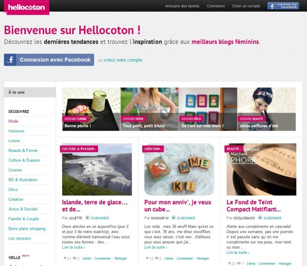 bbnove e-shop puériculture design - concept store made in france pour bébés hellocoton