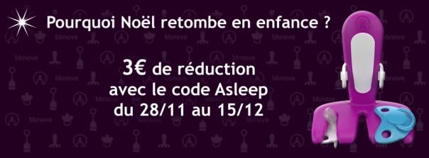 bbnove e-shop puériculture design - concept store made in france pour bébés promotion asleep bbnove